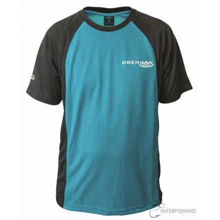 Drennan Performance T-shirt Aqua - 2XL