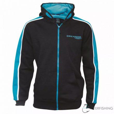 Drennan Full-Zip Hoodie Black - XL