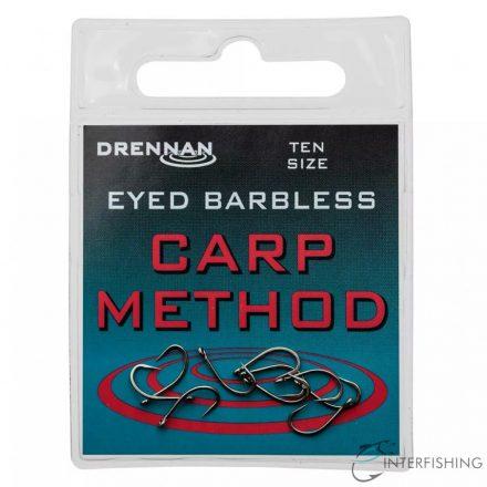 Drennan Eyed Barbless Carp Method 14 horog