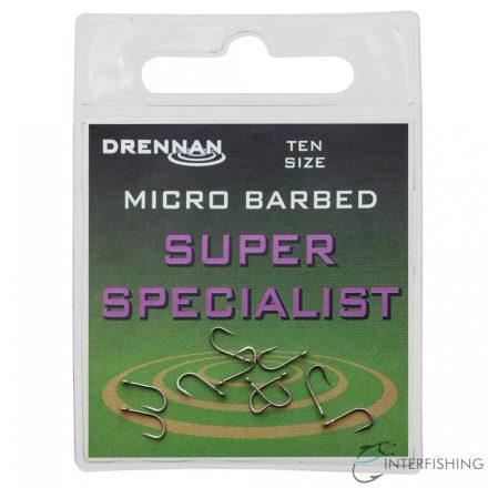 Drennan Super Specialist 20 horog