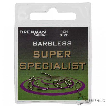 Drennan Super Specialist Barbless 12 horog
