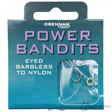 Drennan Bandit Power 10-8 lb előkötött horog