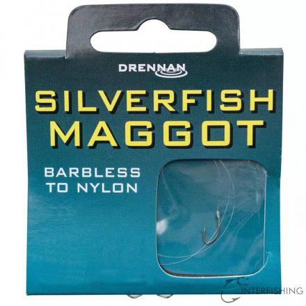 Drennan Silverfish Maggot 22-1.10lb előkötött horog