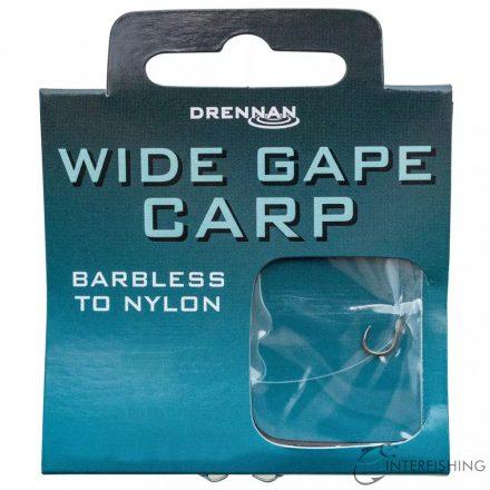 Drennan Wide Gape Carp 12 to 6lb előkötött horog