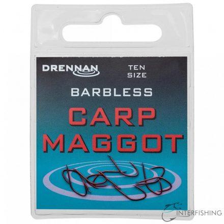 Drennan Barbless Carp Maggot 14 horog