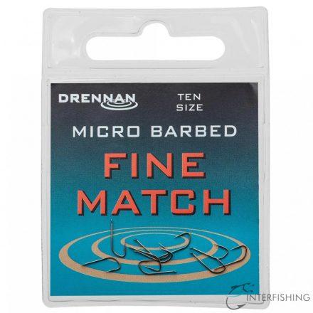 Drennan Fine Match 20 horog
