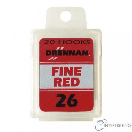 Drennan Fine Red 26 horog