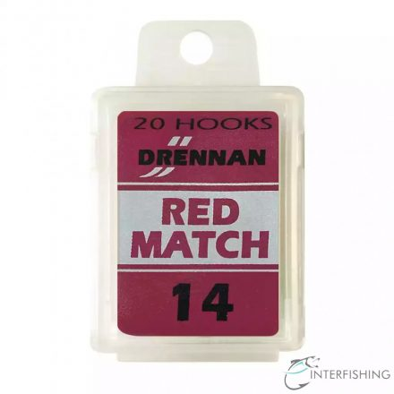 Drennan Red Match 14 horog