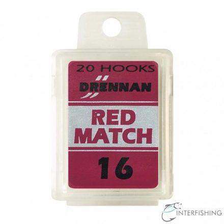 Drennan Red Match 16 horog