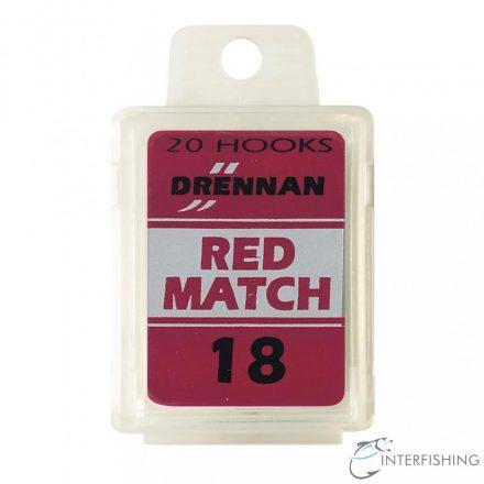 Drennan Red Match 18 horog