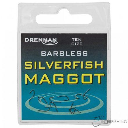 Drennan Barbless Silverfish Maggot 14 horog